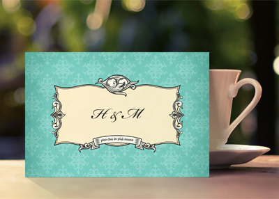 HEIDI & MIKE'S WEDDING STATIONERY