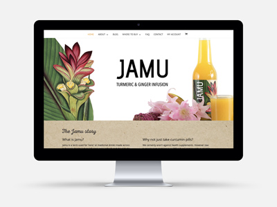 JAMU WEBSITE
