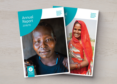 TEAR AUSTRALIA ANNUAL REPORT