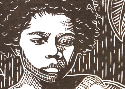 MICAH – original linoprint